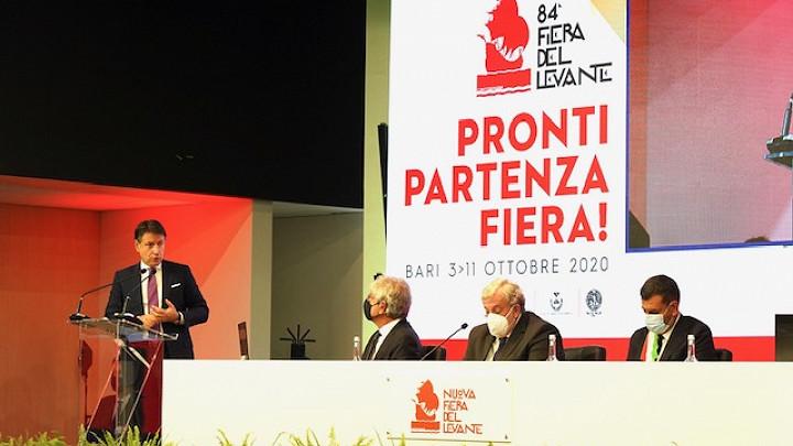 Il Premier Giuseppe Conte ha inaugurato l'84esima Campionaria Generale Internazionale