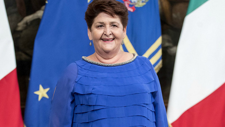 84a Campionaria, la visita della Ministra per le Politiche Agricole Teresa Bellanova