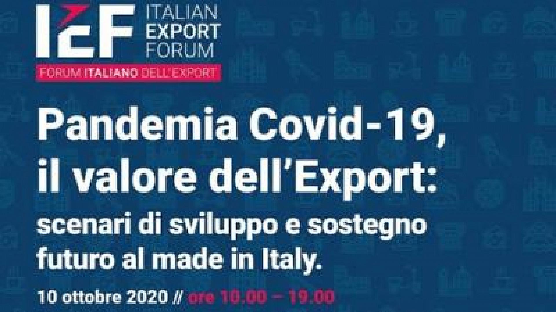 Stati Generali dell'Export: ripartire dalle persone e dall'innovatività per creare valore